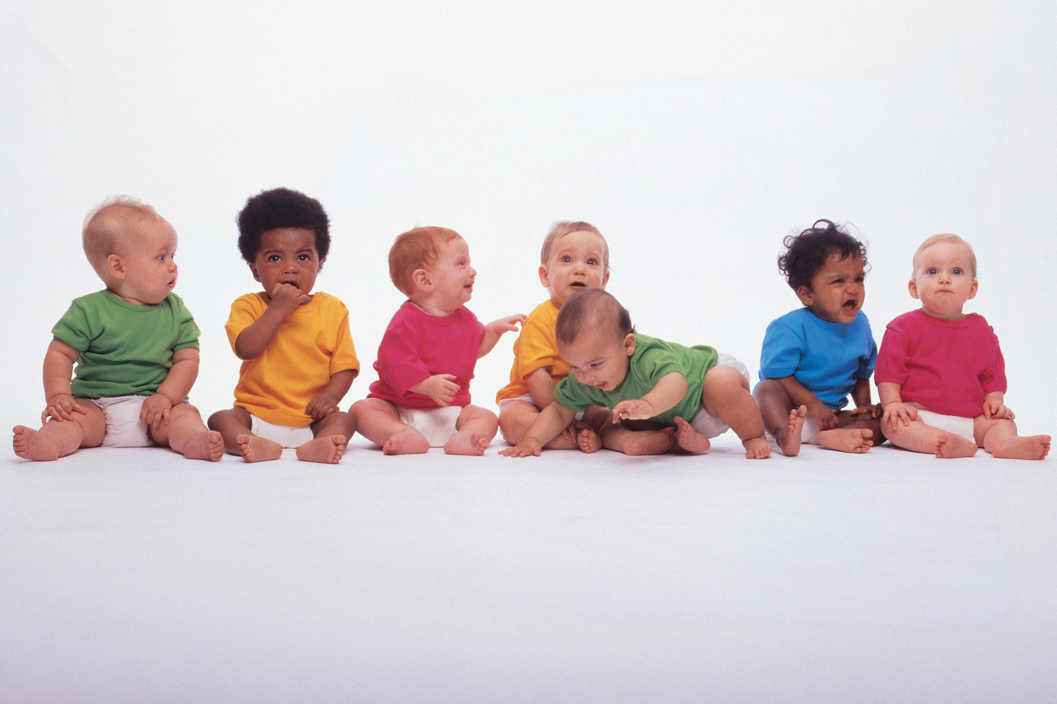Фото детей разного во