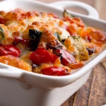 Lasagna vegetariana con champiñones y calabacitas – receta saludable