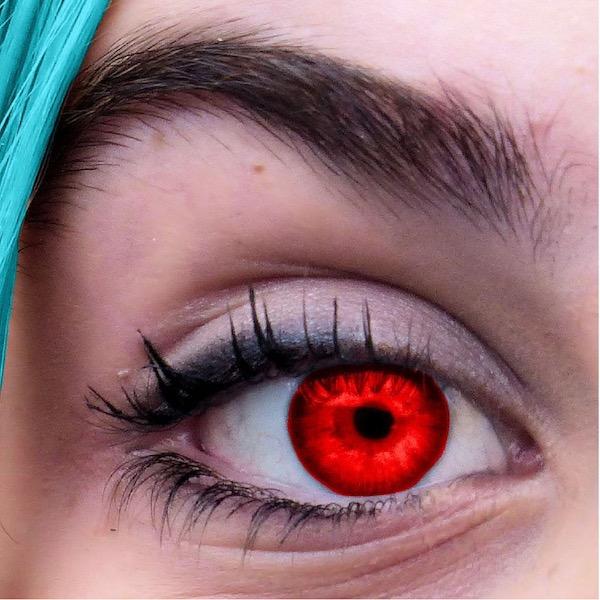 Mucho ojo con los lentes de contacto de colores