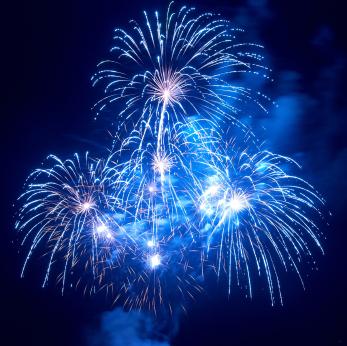 Los fuegos artificiales: espectaculares ¡y peligrosos!
