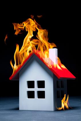 Cómo evitar fuegos en el hogar