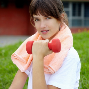 La baja autoestima se sube con el ejercicio