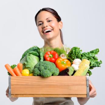 Una dieta a base de vegetales: la clave para una larga vida