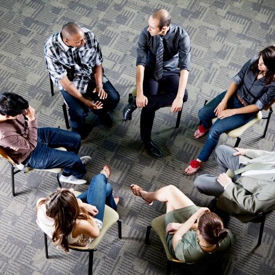 Los beneficios de participar en un grupo de apoyo
