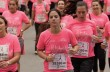 Breast Cancer Awareness Run in Barcelona.