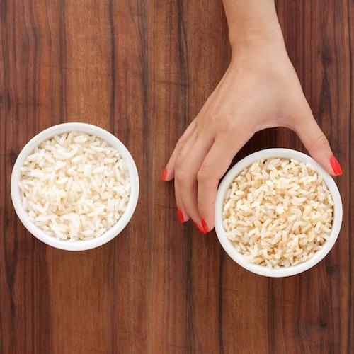 Comer arroz blanco aumenta el riesgo de desarrollar diabetes tipo 2
