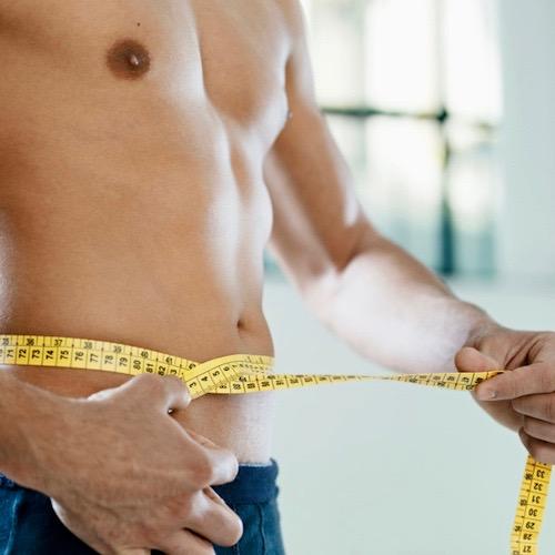 Hombres: menos peso, más testosterona
