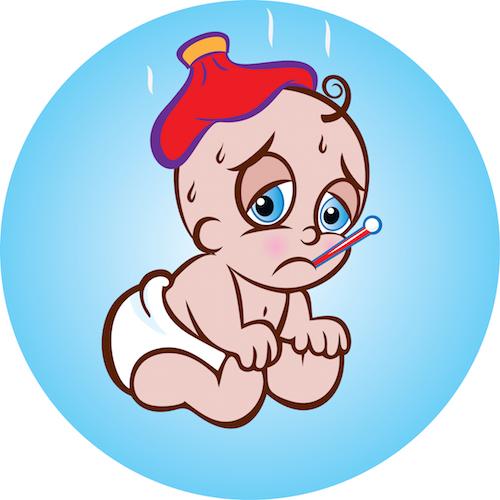 Como actuar si el bebé tiene una convulsión febril